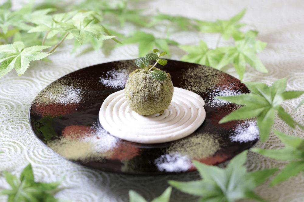 盆栽アイス